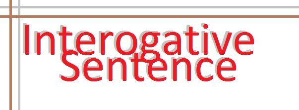Theoretycal Framework Interrogative Sentence Brightsunnygirl